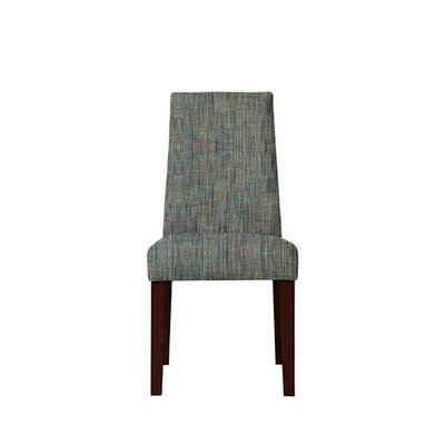Trogdon Upholstered Dining Chair Upholstery: Gray/Teal