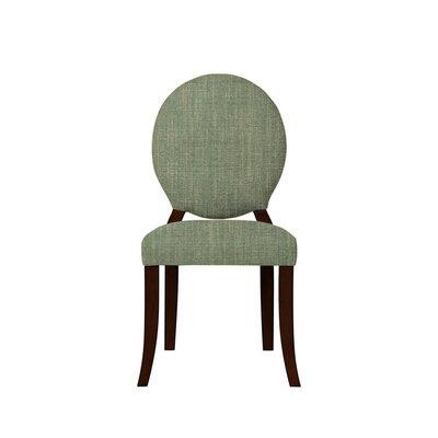 Tristen Upholstered Dining Chair Upholstery: Gray/Green