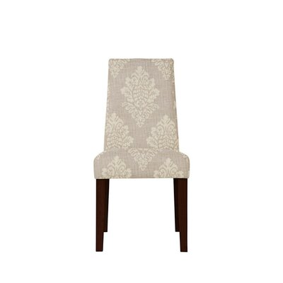 Trogdon Upholstered Dining Chair Upholstery: Prey Fabric Taupe