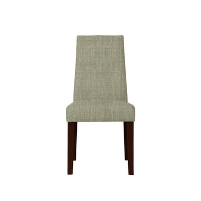 Trogdon Upholstered Dining Chair Upholstery: Gray