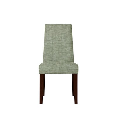 Trogdon Upholstered Dining Chair Upholstery: Blue
