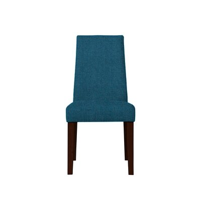 Trogdon Upholstered Dining Chair Upholstery: Light Blue