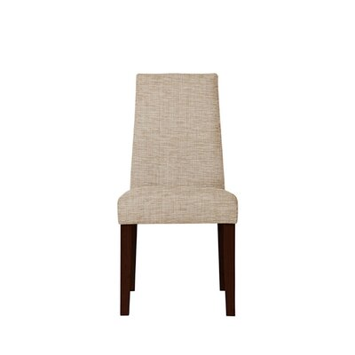 Trogdon Upholstered Dining Chair Upholstery: Beige/Pink