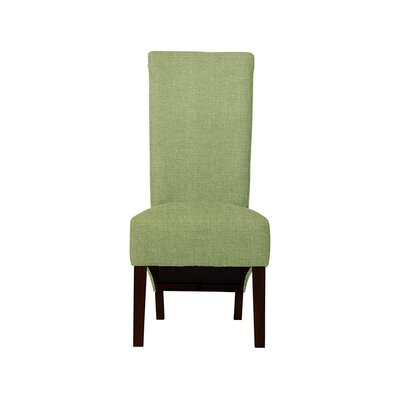 Trollinger Upholstered Dining Chair Upholstery: Green