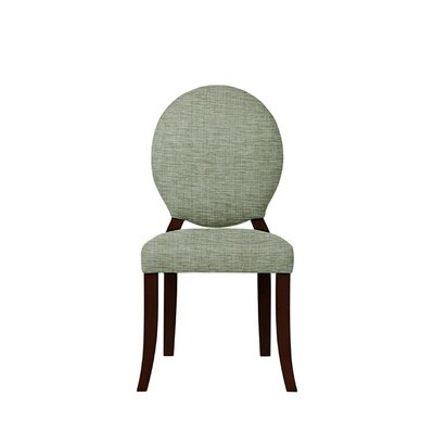 Tristen Upholstered Dining Chair Upholstery: Blue