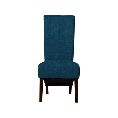 Trollinger Upholstered Dining Chair Upholstery: Dark Blue