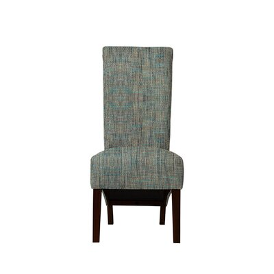 Trollinger Upholstered Dining Chair Upholstery: Gray/Teal