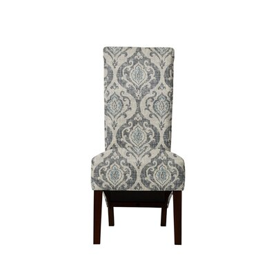 Trollinger Upholstered Dining Chair Upholstery: Isla Fabric Gray/Blue