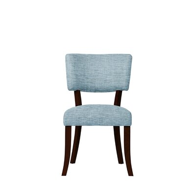 Trombetta Upholstered Dining Chair Upholstery: Gray