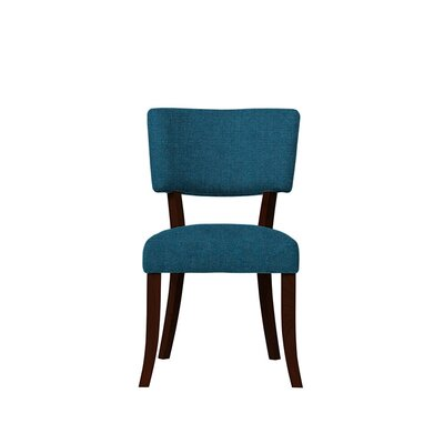 Trombetta Upholstered Dining Chair Upholstery: Light Blue
