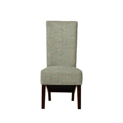 Trollinger Upholstered Dining Chair Upholstery: Gray