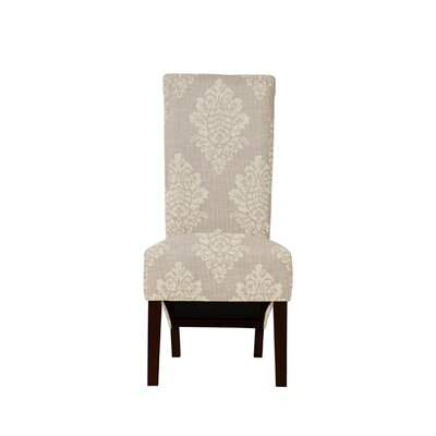 Trollinger Upholstered Dining Chair Upholstery: Prey Fabric Taupe