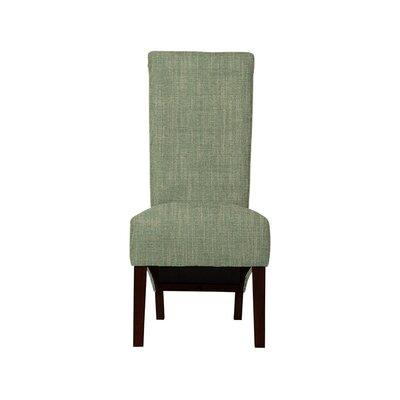 Trollinger Upholstered Dining Chair Upholstery: Gray/Green