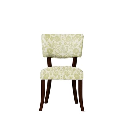 Trombetta Upholstered Dining Chair Upholstery: Irene Fabric Beige/Off White