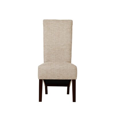 Trollinger Upholstered Dining Chair Upholstery: Beige/Pink
