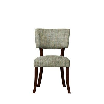 Trombetta Upholstered Dining Chair Upholstery: Gray
