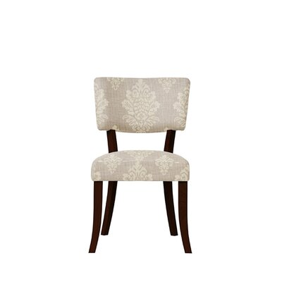Trombetta Upholstered Dining Chair Upholstery: Prey Fabric Taupe
