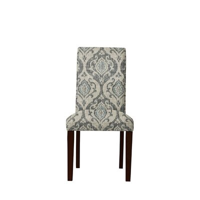Tribeca Upholstered Dining Chair Upholstery: Isla Fabric Gray/Blue