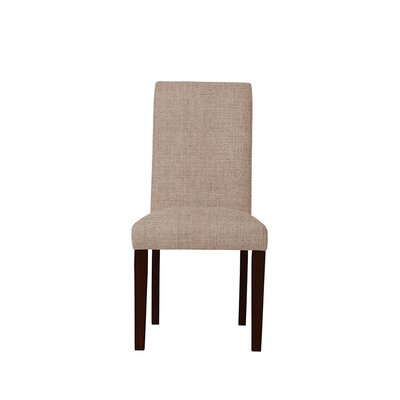 Tribeca Upholstered Dining Chair Upholstery: Light Pink/Moss Rose