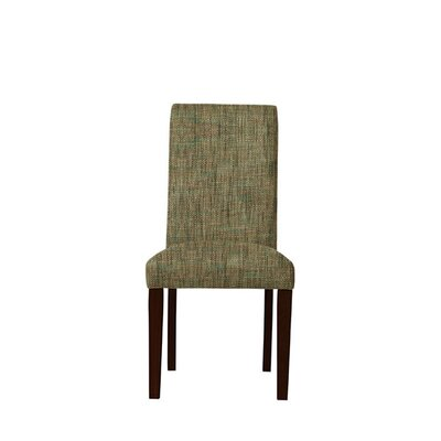 Tribeca Upholstered Dining Chair Upholstery: Brown/Gray