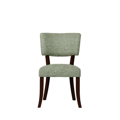 Trombetta Upholstered Dining Chair Upholstery: Blue