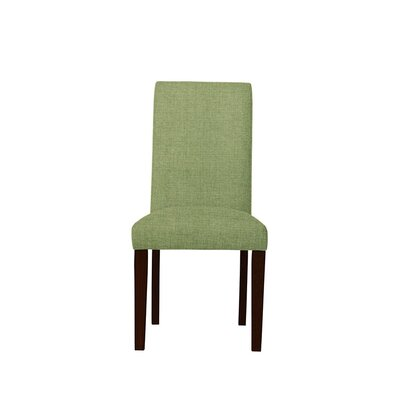 Tribeca Upholstered Dining Chair Upholstery: Green