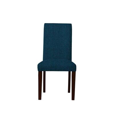 Tribeca Upholstered Dining Chair Upholstery: Dark Blue