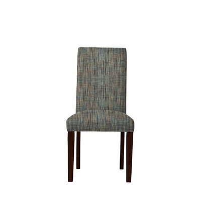 Tribeca Upholstered Dining Chair Upholstery: Gray/Teal
