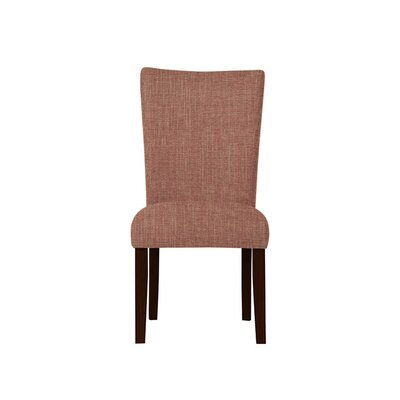 Triche Upholstered Dining Chair Upholstery: Red/Coral