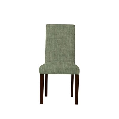 Tribeca Upholstered Dining Chair Upholstery: Gray/Green
