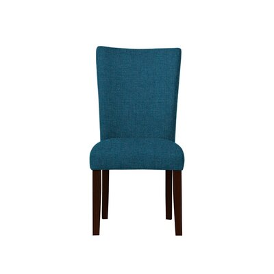 Triche Upholstered Dining Chair Upholstery: Light Blue