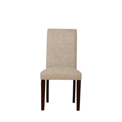 Tribeca Upholstered Dining Chair Upholstery: Beige/Pink