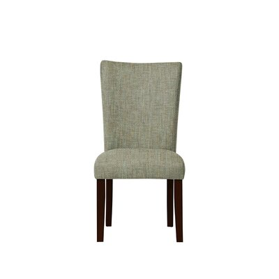 Triche Upholstered Dining Chair Upholstery: Gray