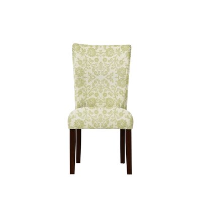Triche Upholstered Dining Chair Upholstery: Irene Fabric Beige/Off White