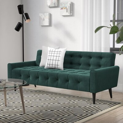 Hooper Sofa Upholstery: Green