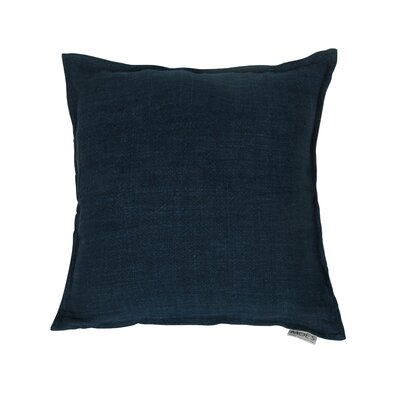 Pittsburgh Linen Feather Euro Color: Denim Blue