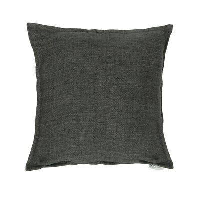 Pittsburgh Linen Feather Euro Color: Charcoal