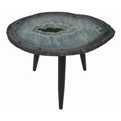 Bilgarrie Wood/Metal End Table