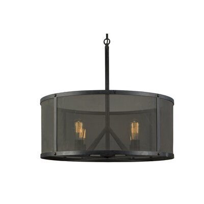 Beringer 4-Light Drum Pendant