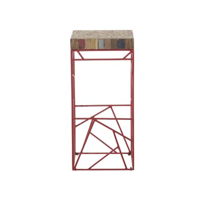 Middletown Bar Stool Color: Red