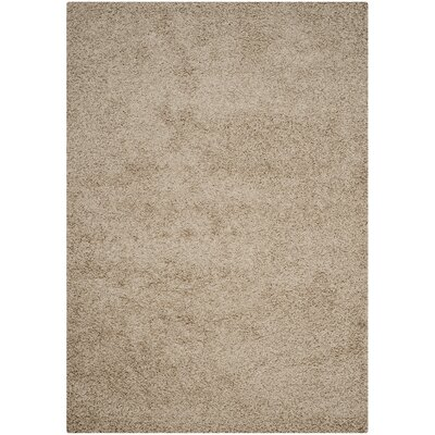 Wilder Beige Area Rug Rug Size: Rectangle 51 x 76