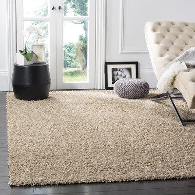 Wilder Beige Area Rug Rug Size: Rectangle 6 x 9