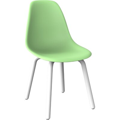 Wendler Dining Chair (Set of 4) Finish: Green