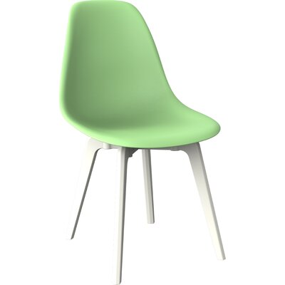 Wendler Dining Chair (Set of 4) Finish: Mint Green