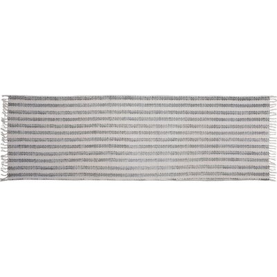 One-of-a-Kind Orchard Street Hand-woven Cotton Gray Area Rug