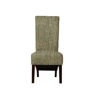 Trollinger Upholstered Dining Chair Upholstery: Brown/Gray