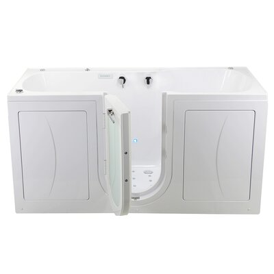 Big4Two 80 x 36 Walk in Whirlpool Bathtub with Fast Fill Faucet