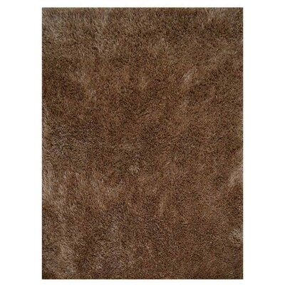 Henricks Hand-Tufted Brown Area Rug Rug Size: Rectangle 5 x 8