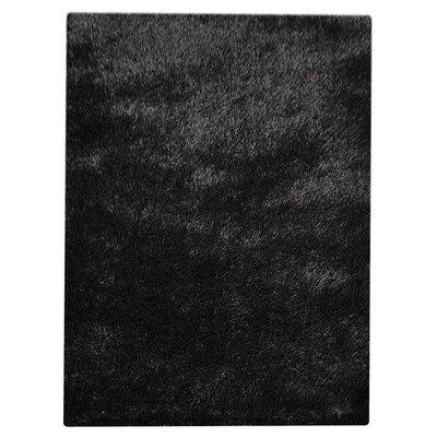 Henricks Hand-Tufted Black Area Rug