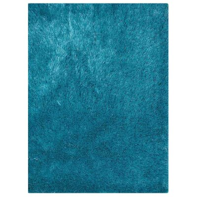 Henricks Hand-Tufted Blue Area Rug Rug Size: Rectangle 8 x 10